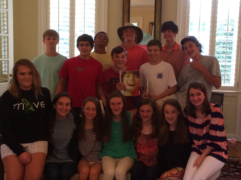 8th Grade Yearbook Party image 1