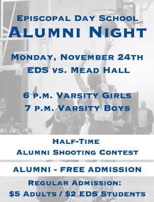 Join Us for EDS Alumni Night