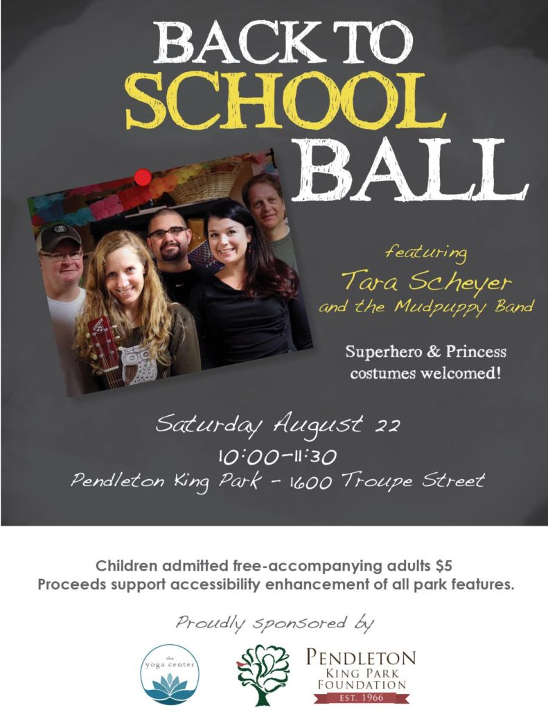 Back To School Ball at Pendleton King Park