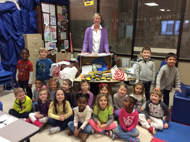 3s and PK Holds School Supply Drive for Heritage Academy 1