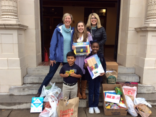 3s and PK Holds School Supply Drive for Heritage Academy 2
