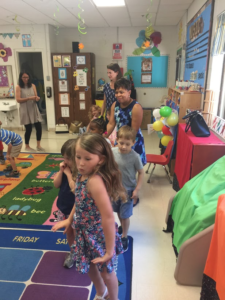PK Music Club Ends with a Parent Party