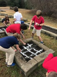 Fifth Grade Projects on the Flowing Wells Campus