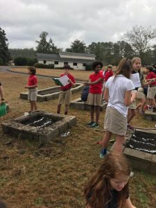 Fifth Grade Projects on the Flowing Wells Campus 2