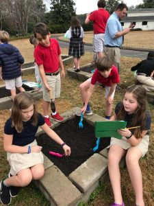 Fifth Grade Projects on the Flowing Wells Campus 3