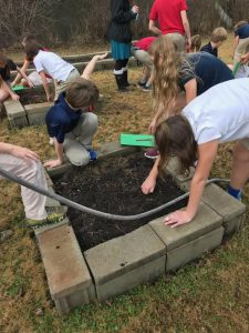 Fifth Grade Projects on the Flowing Wells Campus 4
