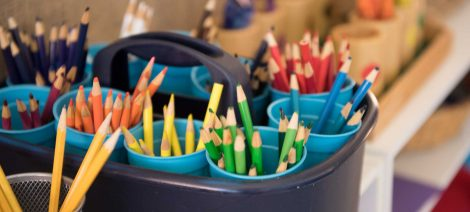 Episcopal Day School (EDS) - colored pencils