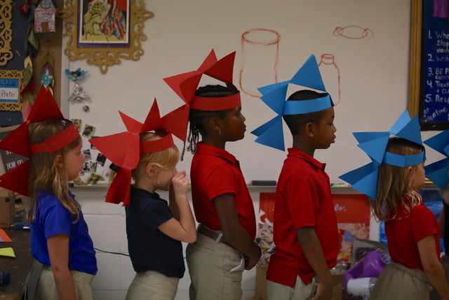 Episcopal Day School (EDS) students