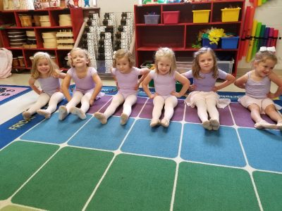 Episcopal Day School (EDS) students in dance class